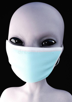 Grey Alien Mask