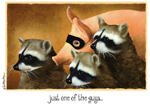 Raccoons and Sweet Piggy